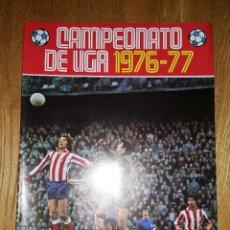Coleccionismo deportivo: ALBUM CAMPEONATO DE LIGA 1976 - 77. EDITORIAL DISGRA VACIO. Lote 136447502