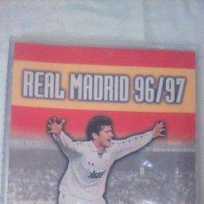 Coleccionismo deportivo: ALBUM REAL MADRID 96/97 PANINI. Lote 136637124