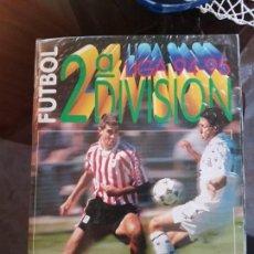Coleccionismo deportivo: ALBUM ESTE 94/95; 2 DIVISION (INCOMPLETO). Lote 136645630