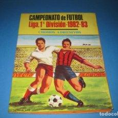 Coleccionismo deportivo: ÁLBUM VACÍO CAMPEONATO DE FÚTBOL LIGA 1ªDIVISIÓN 1982-83. Lote 136875334