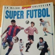 Coleccionismo deportivo: ALBUM DE CROMOS DE SUPER FÚTBOL 96. Lote 137031990