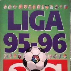 Coleccionismo deportivo: ALBUM DE CROMOS DE FUTBOL DE LA LIGA - 95 - 96 - A S - INCOMPLETO -. Lote 137100406