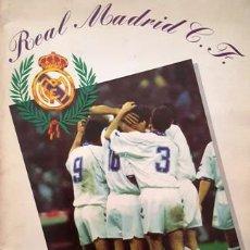 Coleccionismo deportivo: ANTIGUO ALBUM DE CROMOS DEL REAL MADRID C.F. INCOMPLETO -. Lote 137100474