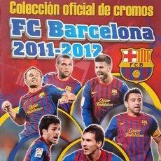Coleccionismo deportivo: ANTIGUO ALBUM DE CROMOS DEL F.C. BARCELONA - 2011 - 2012 - . INCOMPLETO - TIENE SOLO 20 CROMOS -. Lote 137100566