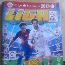 Coleccionismo deportivo: EDICIONES ESTE 2017-18 CONTIENE 507 CROMOS . Lote 137167194