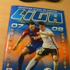 Coleccionismo deportivo: ALBUM LIGA ESTE 2007-08.FALTAN 17 DE LOS 576 CROMOS QUE FORMAN LA COLECCION. Lote 137165198