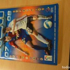 Coleccionismo deportivo: ALBUM LIGA ESTE 2007-08.FALTAN 39 DE LOS 576 CROMOS QUE FORMAN LA COLECCION. Lote 137170438