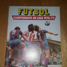 Coleccionismo deportivo: CAMPEONATO DE LIGA 1976 -77. ALBUM ESTE VACIO. Lote 137500534