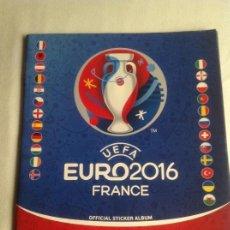 Coleccionismo deportivo: ÁLBUM DE CROMOS INCOMPLETO UEFA EURO2016 FRANCÉS OFICIAL, PANINI. Lote 137529042