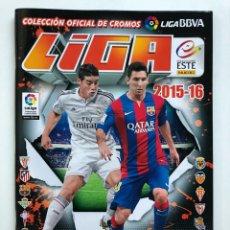 Coleccionismo deportivo: ALBUM VACÍO LIGA BBVA 2015-16 ESTE, PANINI. Lote 137588437