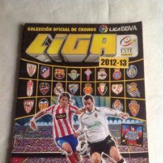 Coleccionismo deportivo: ÁLBUM DE CROMOS INCOMPLETO LIGA 2012-13 FALTAN 117 CRONOS Y ALGUNOS ÚLTIMOS FICHAJES, PANINI.. Lote 137621882