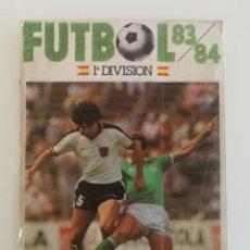 Coleccionismo deportivo: ALBUM FÚTBOL 83 84 CROMOS CANO. Lote 137938110