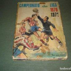 Coleccionismo deportivo: CAMPEONATO LIGA 1970-1971 . Lote 137951670