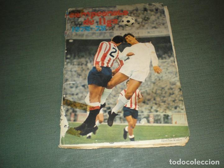 CAMPEONATO DE LIGA 1972-73 (Sammelleidenschaft Sport - Sport-Sammelalben und Sticker - Unvollständige Fußball-Sammelalben)
