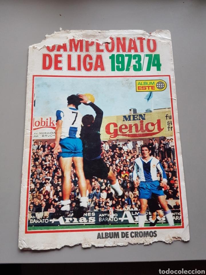 TAPAS ALBUM LIGA ESTE 73 74 1973 1974 (Coleccionismo Deportivo - Álbumes y Cromos de Deportes - Álbumes de Fútbol Incompletos)