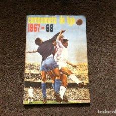 Coleccionismo deportivo: ÁLBUM FÚTBOL (CAMPEONATO DE LIGA 1967-68) DISGRA. (FALTAN 6 CROMOS). Lote 138576430