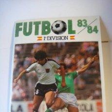Coleccionismo deportivo: ALBUN DE CROMOS DE FUTBOL 83/84 1ª DIVISION DE CROMOS CANO INCOMPLETO (#). Lote 138613058