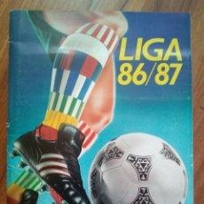Coleccionismo deportivo: ÁLBUM, LIGA 86-87 ( INCOMPLETO ). Lote 138760684