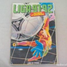 Coleccionismo deportivo: ALBUM DE CROMOS LIGA 91-92 EDICIONES ESTE. 1991-1992. CASI COMPLETO. FUTBOL 1ª DIVISIÓN. Lote 138791734