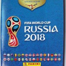 Coleccionismo deportivo: ÁLBUM CROMOS FÚTBOL RUSIA 2018 INCOMPLETO SOLO CON 8 CROMOS. Lote 138825858