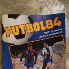 Coleccionismo deportivo: ALBUM FÚTBOL 84 PANINI MUY INCOMPLETO. Lote 138995242