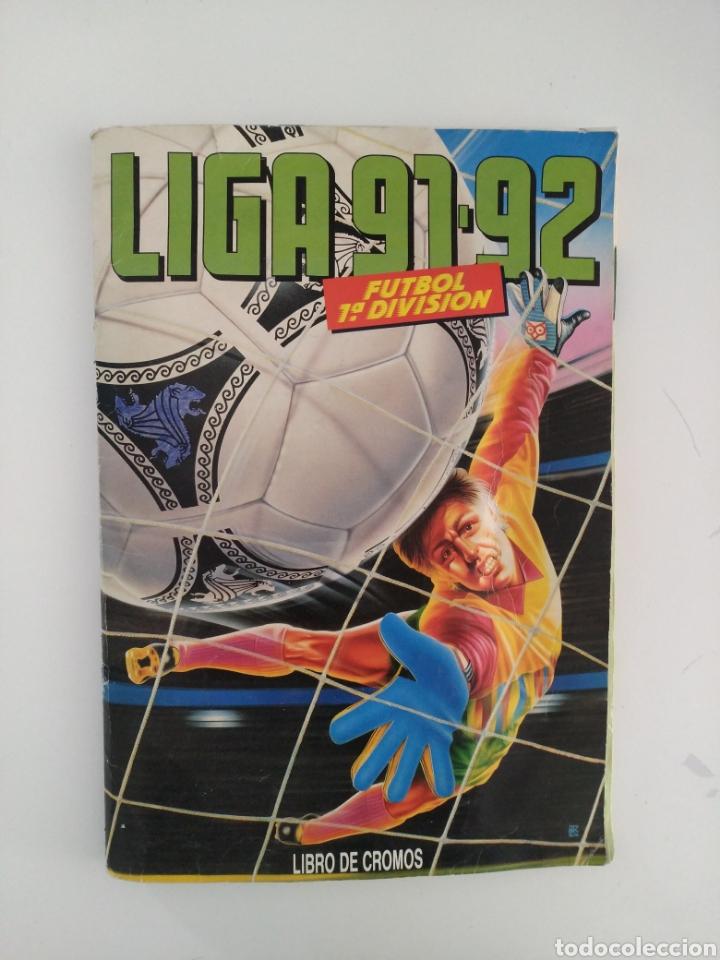 ALBUM LIGA ESTE 91/92 (Coleccionismo Deportivo - Álbumes y Cromos de Deportes - Álbumes de Fútbol Incompletos)