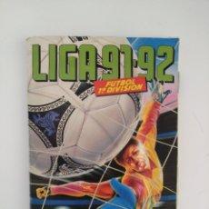 Coleccionismo deportivo: ALBUM LIGA ESTE 91/92. Lote 139010030