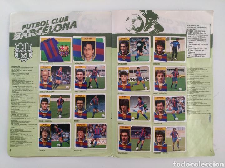Coleccionismo deportivo: Album liga Este 91/92 - Foto 4 - 139010030