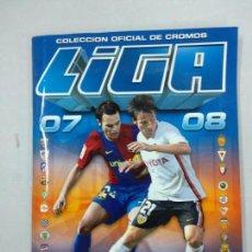 Coleccionismo deportivo: ALBUM LIGA 2007 2008 - CON MUCHOS CROMOS ESTE. Lote 139107690