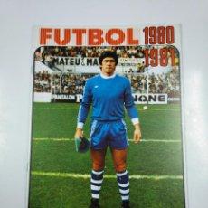 Coleccionismo deportivo: ALBUM DE CROMOS LIGA DE FUTBOL 1980 1981. LIBRO PARA CROMOS. EDITORIAL FHER. SIN CONTENIDO. TDKC29. Lote 195359200