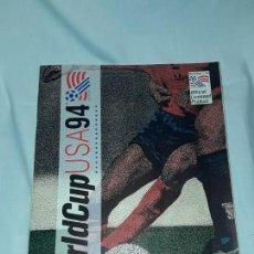 Coleccionismo deportivo: ALBUM WORLDCUP USA 94 INCOMPLETO. Lote 139592746