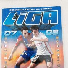 Coleccionismo deportivo: ALBUM CROMOS FUTBOL LIGA ESTE 2007-2008. Lote 139886956