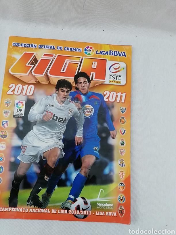 ALBUM CROMOS FUTBOL LIGA ESTE 2010-2011 (Coleccionismo Deportivo - Álbumes y Cromos de Deportes - Álbumes de Fútbol Incompletos)