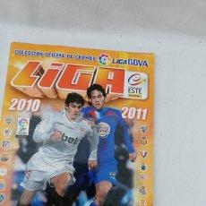 Coleccionismo deportivo: ALBUM CROMOS FUTBOL LIGA ESTE 2010-2011. Lote 139887657