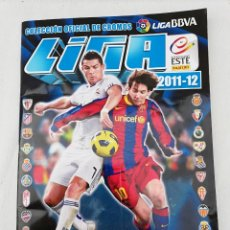 Coleccionismo deportivo: ALBUM CROMOS FUTBOL LIGA ESTE 2011-2012.. Lote 139888164