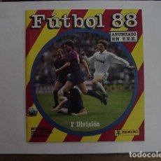 Coleccionismo deportivo: FÚTBOL 88 - ALBUM DE CROMOS. INCOMPLETO.. Lote 140125513