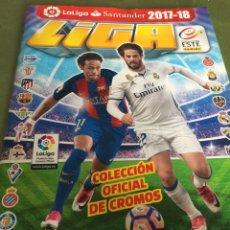 Coleccionismo deportivo: ÁLBUM DE CROMOS LIGA ESTE 2017-2018 CON 145 CROMOS. Lote 140282058