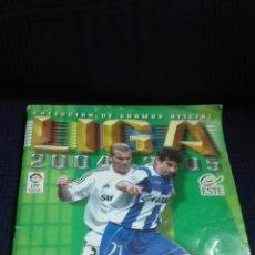 Coleccionismo deportivo: ALBUM LIGA 2004 2005 EDICIONES ESTE LE FALTAN 40 CROMOS. Lote 140339321