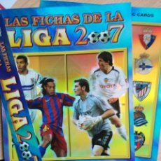 Coleccionismo deportivo: MUNDICROMO 2006-2007 06-07 HOJAS VERSION BRILLO LISO PARA ALBUM FICHERO ARCHIVADOR PLASTICO CROMOS . Lote 140439718