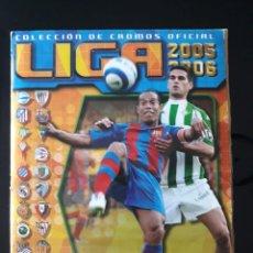 Coleccionismo deportivo: ALBUM LIGA ESTE 2005 - 2006. CON 467 CROMOS. VER IMÁGENES. Lote 140471122
