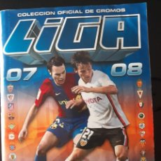 Coleccionismo deportivo: ALBÚM LIGA ESTE 2007 2008. 531 CROMOS . 42 UFS. 39 COLOCAS.VER IMÁGENES. Lote 140477838