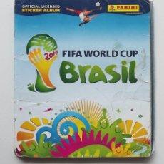 Coleccionismo deportivo: ALBUM CASI COMPLETO FIFA MUNDIAL 2014 BRASIL. 590 DE 639 CROMOS. VER IMÁGENES DE TODAS LAS PÁGINAS. Lote 140661922