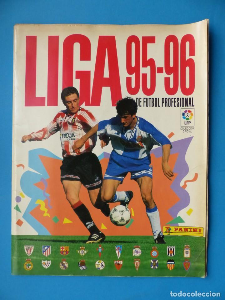LIGA 1995-1996 95-96 - PANINI - VER DESCRIPCION Y FOTOS (Coleccionismo Deportivo - Álbumes y Cromos de Deportes - Álbumes de Fútbol Incompletos)