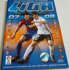 Coleccionismo deportivo: ALBUM DE CROMOS FUTBOL LIGA 2007 - 2008 EDITORIAL ESTE. Lote 141145254