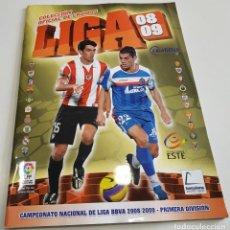 Coleccionismo deportivo: ALBUM DE CROMOS FUTBOL LIGA 2008 - 2009 EDITORIAL ESTE . Lote 141145518