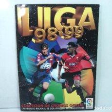 Coleccionismo deportivo: ALBUM FUTBOL -ESTE 98 99 -370 CROMOS TOTAL CON 84 DOBLES¡¡MUY COMPLETO¡¡2098 2099-TODO FOTOGRAFIADO. Lote 141842338