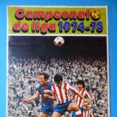Coleccionismo deportivo: CAMPEONATO DE LA LIGA 1974-75 - FHER DISGRA - SOLO LAS TAPAS - VER FOTOS. Lote 142029686