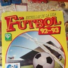 Coleccionismo deportivo: FÚTBOL 92 - 93 ESTRELLAS DE LA LIGA ÁLBUM PANIN. Lote 142053182