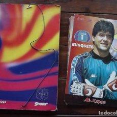 Coleccionismo deportivo: CARPETA FC BARCELONA 19 LÁMINAS TAMAÑO FOLIO PLANTILLA 1995-1996 SPORT VER TODAS LAS IMÁGENES. Lote 142313370
