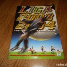 Coleccionismo deportivo: ALBUM NUEVO, VACIO Y PLANCHA ••• TEMPORADA 2003/2004 (03/04) ••• EDICIONES ESTE. Lote 142447786